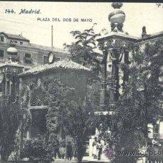 Postales: MADRID.- PLAZA DEL DOS DE MAYO. Lote 37434904