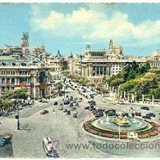 Postales: 7-ESP1983. POSTAL MADRID. CIBELES Y C/ ALCALA. Lote 37559754