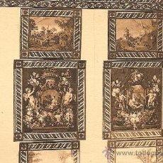 Postales: EL ESCORIAL, CASITA DEL PRINCIPE, SALA DE BORDADOS POR D. JUAN LOPEZ DE ROBLEDO - L.ROISIN Nº 14. Lote 37725214