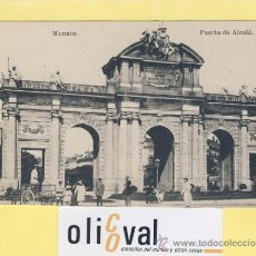Postales: POSTAL- MADRID-PUERTA DE ALCALA -CARROS Y VESTUARIO - AÑOS 30--ED .J.ROIG -P-01984. Lote 37884849