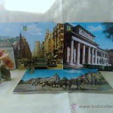 Postales: AÑO 1962-63.- MADRID.- LOTE DE CUATRO POSTALES CIRCULADAS.. Lote 37873444