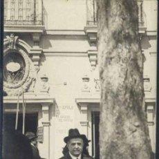 Postales: MADRID.- FOTOGRÁFICA DE LA PUERTA DEL TEATRO APOLO. Lote 37915886