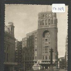 Postales: MADRID - 23 - PLAZA DEL CALLAO Y PALCAIO DE LA PRENSA - ED·MOLINA - (17149). Lote 38231565