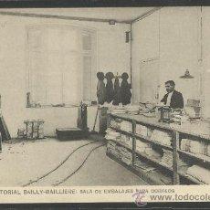 Postales: CASA EDITORIAL BAILLY - BALLIERE - 8 - SALA DE EMBALAJES PARA CORREOS - (17.237) . Lote 38371624