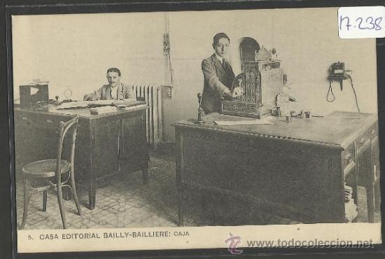 CASA EDITORIAL BAILLY - BALLIERE - 5 - CAJA - (17.238) (Postales - España - Comunidad de Madrid Antigua (hasta 1939))