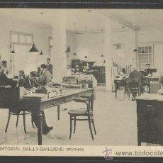 Postales: CASA EDITORIAL BAILLY - BALLIERE - 6 - OFICINAS - (17.240). Lote 38371788