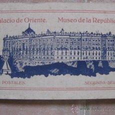 Postales: PALACIO DE ORIENTE MUSEO DE LA REPÚBLICA. Lote 38685975