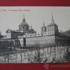 Postales: POSTAL DE EL ESCORIAL : MONASTERIO ( PARTE LEVANTE). Lote 38897693