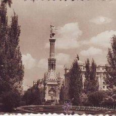 Postales: MONUMENTO DE COLON (MADRID).. Lote 38931899