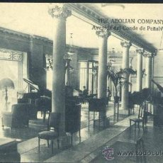 Postales: MADRID.- THE AEOLIAN COMPANY .-AVDA CONDE DE PEÑALVER.-UNO DE LOS SALONES DE EXPOSICION Y AUDICIONES. Lote 38950645