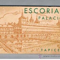 Postales: EL ESCORIAL PALACIO TAPICES 20 POSTALES EDICIONES HAUSER Y MENET. Lote 38982016