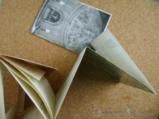 Postales: Bloque 9 postales Valle de los Caídos (Cuelgamuros), de Patrimonio Nacional. Tipo acordeón, b/n 1961 - Foto 3 - 39083425