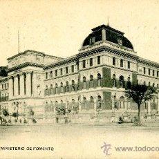 Postales: MADRID. MINISTERIO DE FOMENTO. Lote 39180675