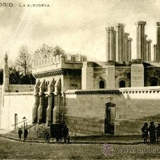 Postales: MADRID. LA ALMUDENA. Lote 39238735