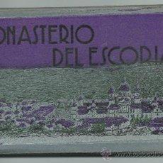 Postales: MONASTERIO DEL ESCORIAL BLOCK DE POSTALES Nº2 .- FOTO L. ROISIN .- 16 POSTALES. Lote 39261185