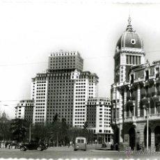 Postales: MADRID. EDIFICIO DE LA PLAZA DE ESPAÑA. Lote 39370580