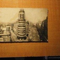 Postales: POSTAL MADRID AVENIDA DE JOSE ANTONIO Y CAPITOL CIRCULADA. Lote 39467207
