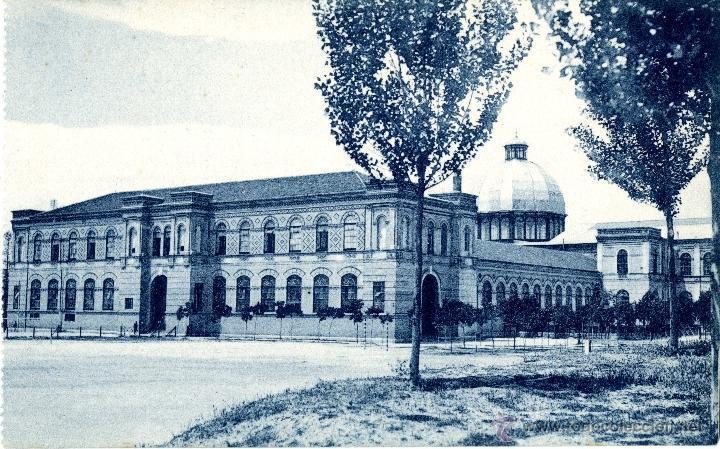 MADRID. MUSEO DE HISTORIA NATURAL (Postales - España - Comunidad de Madrid Antigua (hasta 1939))