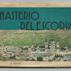Postales: MONASTERIO DEL ESCORIAL.-18 POSTALES.-1ª SERIE FOTOGRAFO L. ROISIN. Lote 39670950