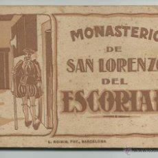Postales: MONASTERIO DE SAN LORENZO DEL ESCORIAL.-12 POSTALES L. ROISIN. Lote 39671090