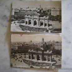 Postales: 2 POSTALES FOTOGRAFICAS DE MADRID,CIRCULADAS--PUERTA DE ALCALA-ED.DOMINGUEZ 26 Y GARRABELLA 255. Lote 39711400