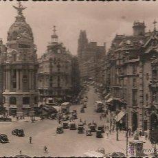 Postales: POSTAL MADRID CALLE ALCALA Y AVENIDA JOSE ANTONIO EDIC MOLINA NUM 72 -OCASIÓN-. Lote 39955241