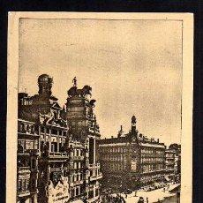 Postales: MADRID. CALLE DE ALCALÁ. CIRCULADA 1948. TRANVIA .. Lote 39991541