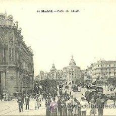 Postales: MADRID CALLE DE ALCALA POSTAL 9 X 13 CTMS,. Lote 40057939