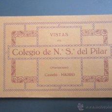 Postales: 18 POSTALES DEL COLEGIO DE NUESTRA SEÑORA DEL PILAR. BARRIO DE SALAMANCA, MADRID.. Lote 40082061