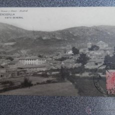 Postales: MADRID CERCEDILLA VISTA GENERAL HAUSER Y MENET POSTAL ANTIGUA. Lote 40154148