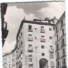 Postales: MADRID - ARCO DE CUCHILLEROS (POSTAL ANIMADA) 1958. Lote 26379520