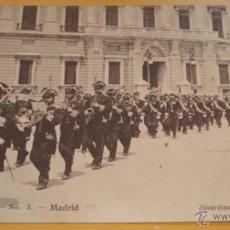 Postales: ANTIGUA POSTAL DE MADRID - Nº 1 - GUARDIAS ALABARDEROS - NO CIRCULADA - ED. MADRID EXPRESS.. Lote 39545751