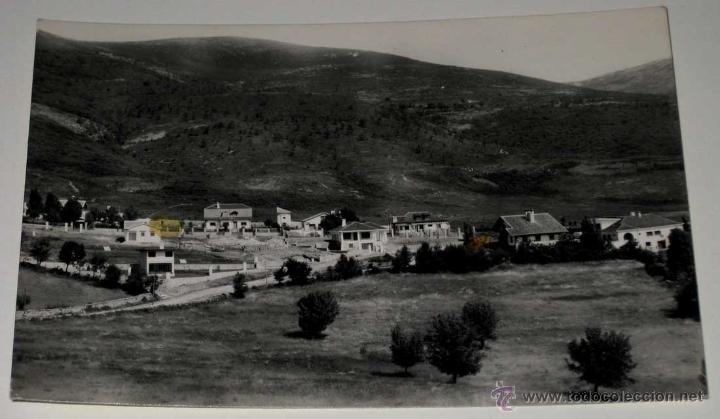 ANTIGUA FOTO POSTAL DE RASCAFRIA (MADRID) COLONIA LAS MATILLAS - HAE - SIN CIRCULAR (Postales - España - Comunidad de Madrid Antigua (hasta 1939))