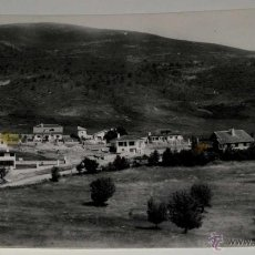 Postales: ANTIGUA FOTO POSTAL DE RASCAFRIA (MADRID) COLONIA LAS MATILLAS - HAE - SIN CIRCULAR. Lote 39550334