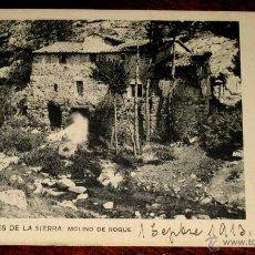 Postales: ANTIGUA POSTAL DE MIRAFLORES DE LA SIERRA - MOLINO DE ROQUE - CIRCULADA - ED. R. FONT. E.. Lote 39586578