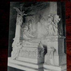 Cartoline: ANTIGUA POSTAL - MADRID - MAUSOLEO DE CANOVAS DEL CASTILLO - MADRID POSTAL - 1904 - SIN CIRCULAR. Lote 39590604