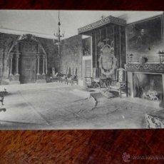 Postales: ANTIGUA POSTAL - MADRID - SAN LORENZO DEL ESCORIAL - PALACIO REAL - HABITACIONES DE FELIPE II - SALO. Lote 39605413