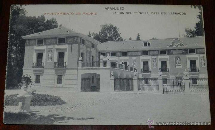 Antigua postal de aranjuez ayuntamiento de ma comprar postales antiguas de la comunidad de - Oficina de turismo de aranjuez ...