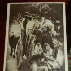 Postales: ANTIGUA POSTAL DE ROMERIA EN SAN LORENZO DE EL ESCORIAL, MADRID, ROMERIA DE LA VIRGEN DE GRACIA, ED.. Lote 39610495