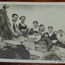 Postales: ANTIGUA POSTAL DE ROMERIA EN SAN LORENZO DE EL ESCORIAL, MADRID, ROMERIA DE LA VIRGEN DE GRACIA, ED.. Lote 39610496