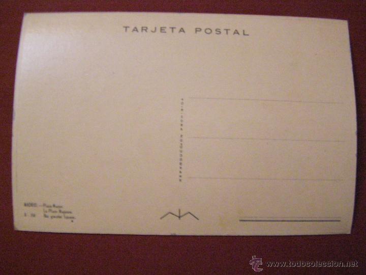 Postales: Madrid - Plaza Mayor - Cuando era transitable con vehículos - - Foto 2 - 40335783