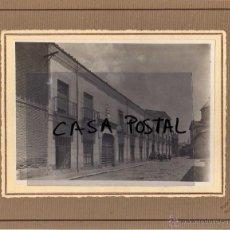 Postales: FOTOGRAFIA 19 X 24 CM FOTO TEROL. ALCALÁ DE HENARES. COLEGIO DE LAS FILIPENSAS 1925 FACHADA EXTERIOR. Lote 40366496