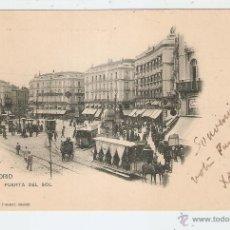 Postales: MADRID PUERTA DEL SOL. PELON REVERSO. Lote 40618997