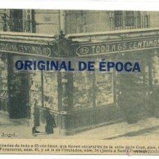 Postales: (PS-38176)POSTAL DE MADRID-TIENDA DE TODO A 65 CENTIMOS. Lote 40831515
