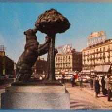 Postais: POSTAL DE MADRID, AÑO 1967. PUERTA DEL SOL, OSO, MADROÑO, TURISTAS. 440. Lote 40852695