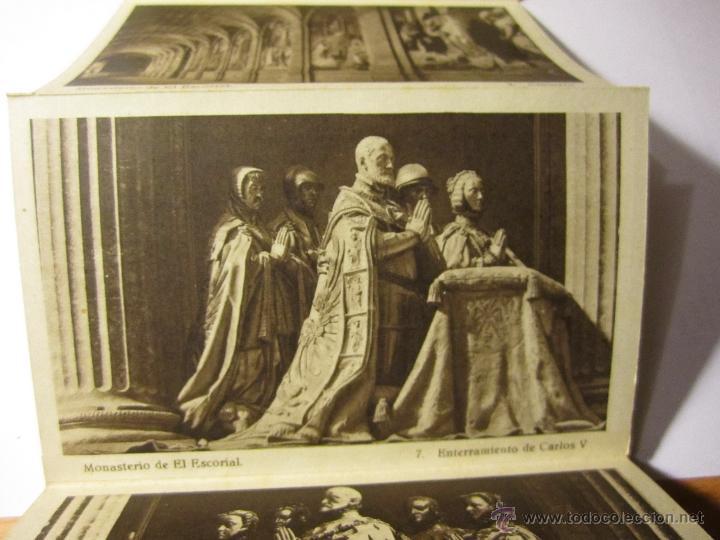 Postales: monasterio del escorial acordeon 20 postales hauser y menet segunda serie - Foto 2 - 40935007