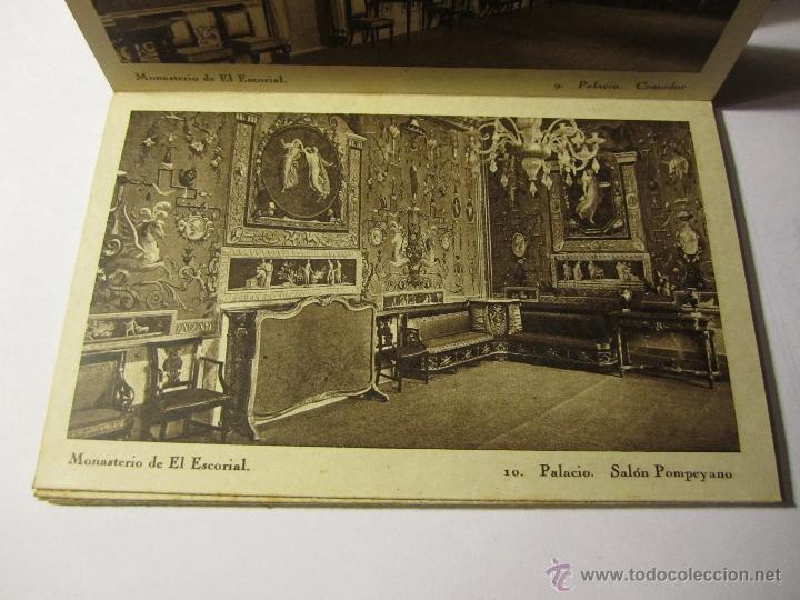 Postales: monasterio del escorial acordeon 20 postales hauser y menet segunda serie - Foto 4 - 40935007