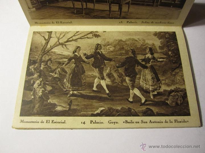 Postales: monasterio del escorial acordeon 20 postales hauser y menet segunda serie - Foto 5 - 40935007