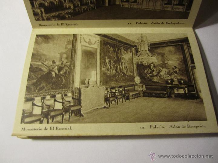 Postales: monasterio del escorial acordeon 20 postales hauser y menet segunda serie - Foto 6 - 40935007