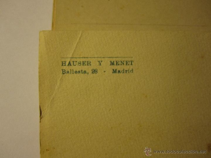 Postales: monasterio del escorial acordeon 20 postales hauser y menet segunda serie - Foto 7 - 40935007